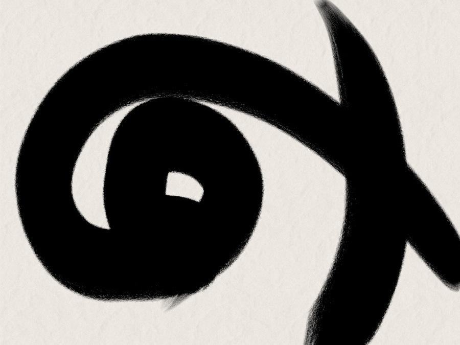 spiral eye sketchspiral eye sketch