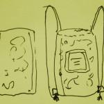 backpack-sketch