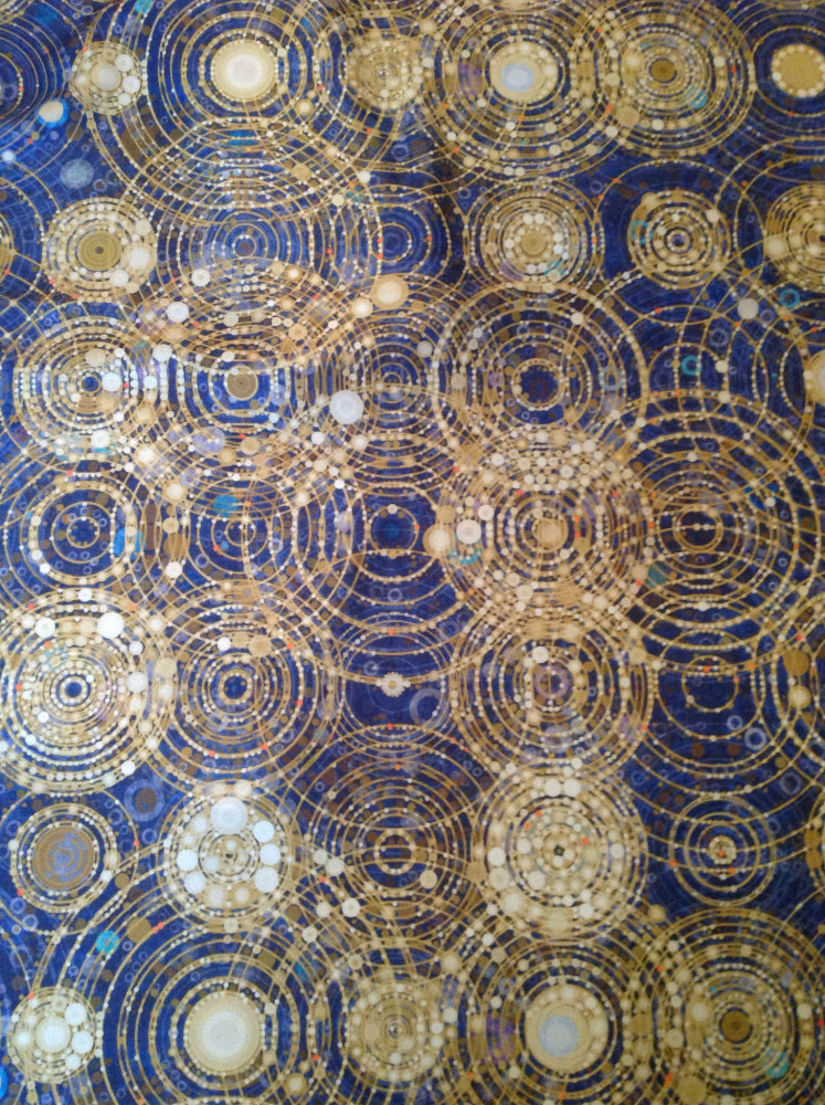 map of the cosmos - fabric detail