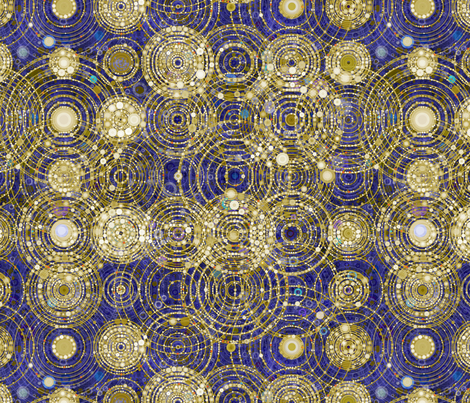 map of the cosmos pattern